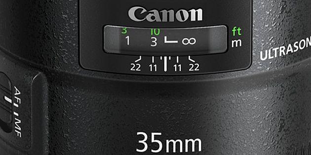 Canon EF 35 mm/F1.4 L II USM