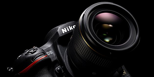 Nieuwe firmware voor Nikon D5