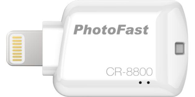 Review: PhotoFast CR-8800 MicroSD kaartlezer