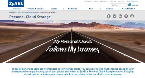 ZyXel personal cloud 01