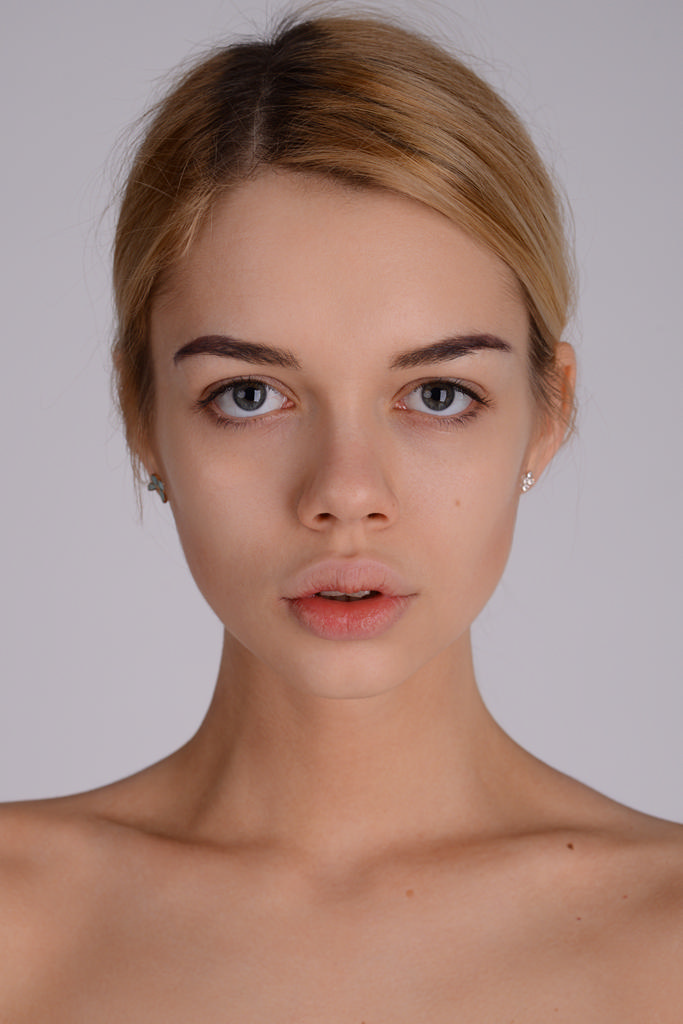 Putain visage naturel