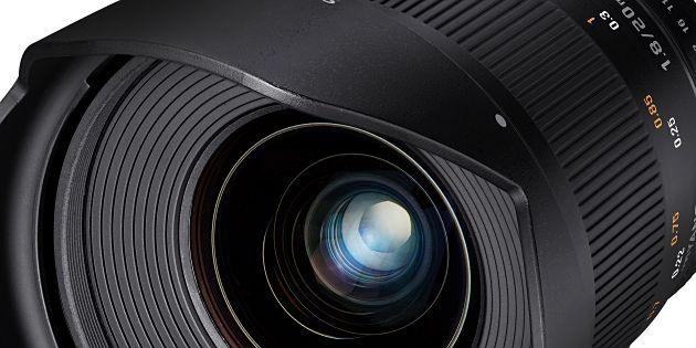 Samyang introduceert 20 mm objectieven