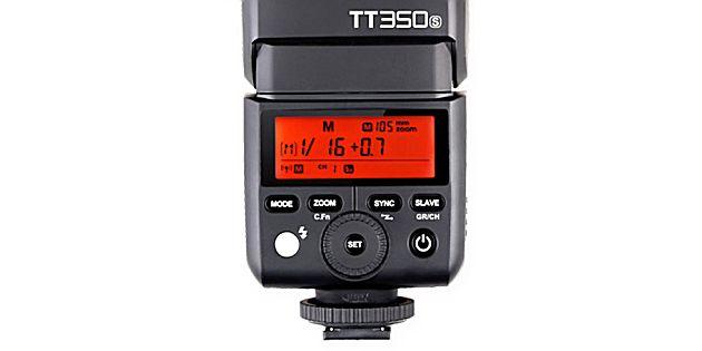 Godox TT350s flitser