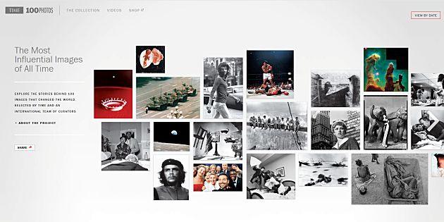 Time 100 meest invloedrijke foto's