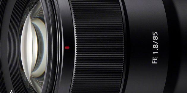 Sony kondigt FE 85mm F1.8 objectief aan