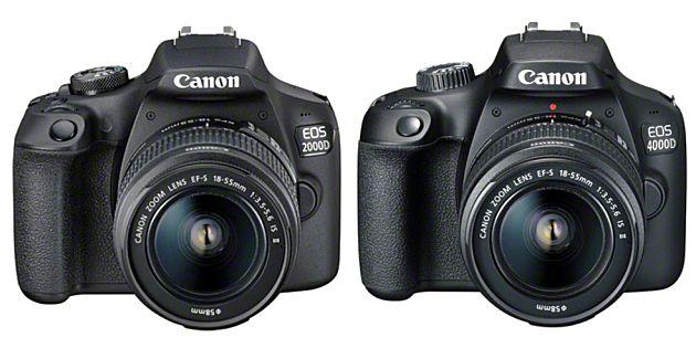 Canon introduceert EOS 2000D en 4000D