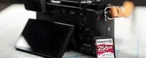 Kingston Canvas React 256GB SD-kaart