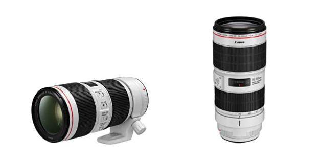 Canon introduceert verbeterde 70-200mm zoomobjectieven