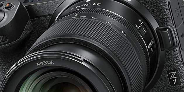 Nikon kondigt Nikon Z-systeemcamera's aan