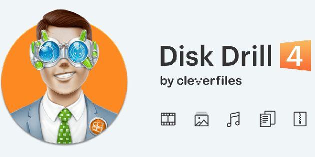 Disk Drill 4 haalt verwijderde bestanden terug