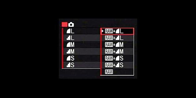 JPEG versus RAW