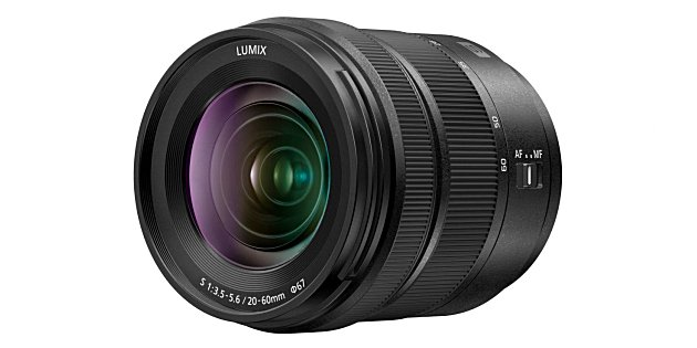 Panasonic lanceert LUMIX S 20-60mm F3.5-5.6 zoomobjectief