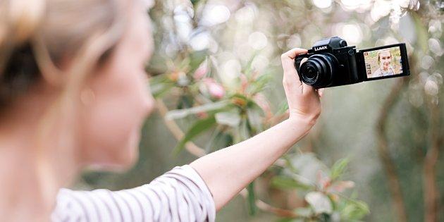Panasonic lanceert Lumix G100 vlog-camera