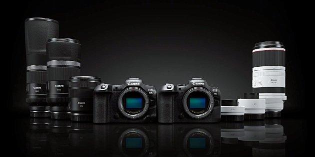 Firmware update voor Canon EOS R5