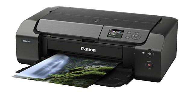 Canon introduceert Pixma PRO-200 kleurenprinter