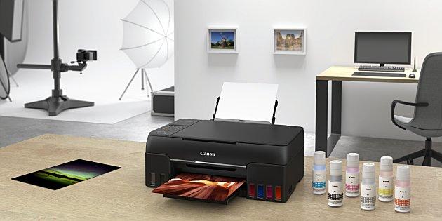 Canon lanceert nieuwe fotoprinters met inkttank