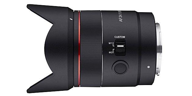 Samyang kondigt AF 24mm F1.8 voor Sony FE-mount aan