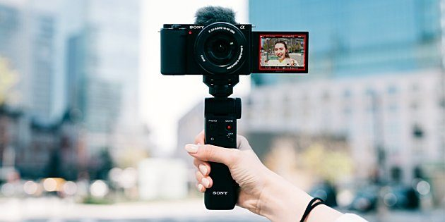 Sony lanceert ZV-E10 vlogcamera